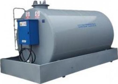 Bazin metalic motorina 13000 litri cu pompa Piusi 220V de la Simba's Group Srl