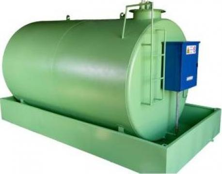 Rezervor stocare motorina bazin 15000 litri cu pompa Piusi de la Simba's Group Srl