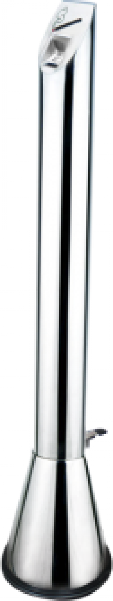 Scrumiera crom exterioara Icikala 12xh110cm de la Basarom Com