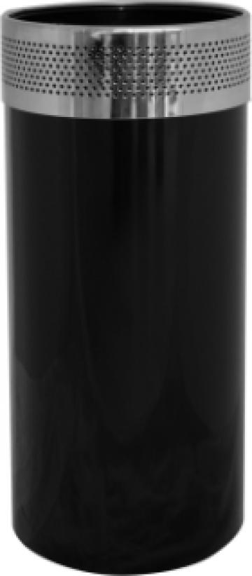 Cos gunoi culoare neagra Icikala 25xh61cm de la Basarom Com