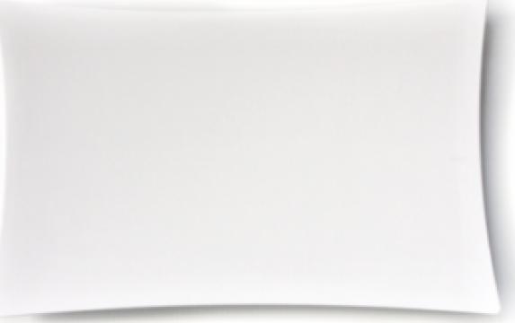 Platou servire melamina Raki 28x45x1cm alb de la Basarom Com