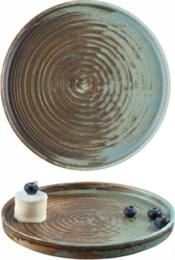Farfurie ceramica Bonna colectia Coral 21cm de la Basarom Com