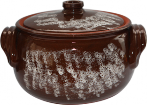 Oala ceramica, lut 3,5litri de la Basarom Com