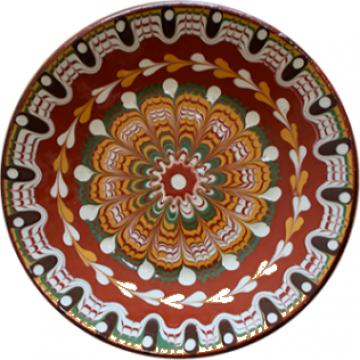 Farfurie ceramica, lut 18cm de la Basarom Com