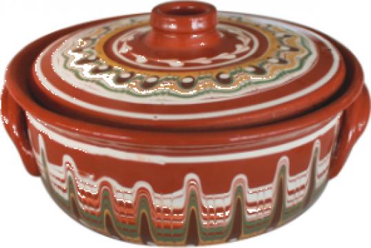 Oala ceramica, lut 1,5litri de la Basarom Com
