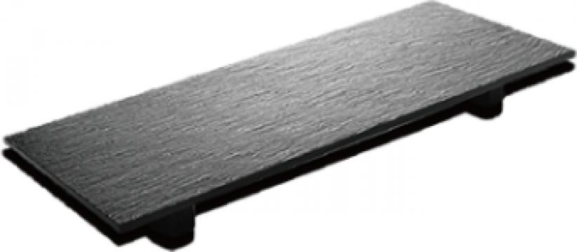 Platou servire piatra ardezie Raki 48 x17xh0,5cm de la Basarom Com