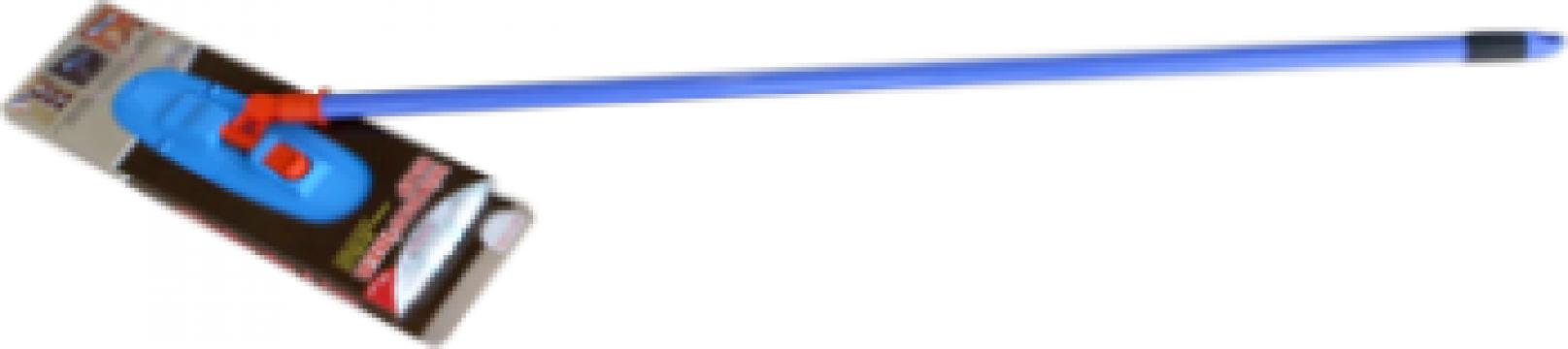 Mop plat profesional Raki cu coada 40cm de la Basarom Com