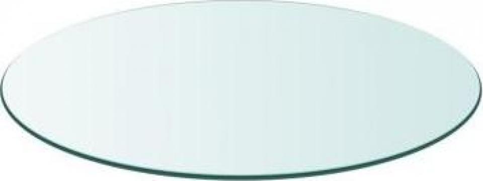 Blat de masa din sticla securizata, rotund, 300 mm de la Vidaxl