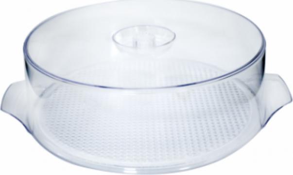 Caserola rotunda din policarbonat de 30 cm pentru toarta de la Basarom Com