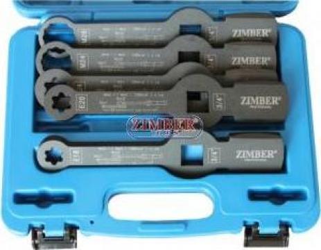 Trusa cheie inelara impact pentru etrier camioane MAN, DAF de la Zimber Tools