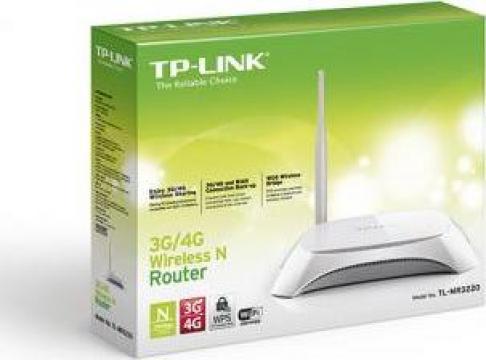 Router wireless TP-Link TL-MR3220-3, 4G, 5dbi de la Electro Supermax Srl