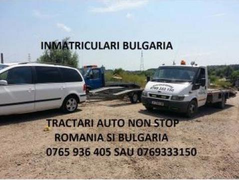 Tractari auto non stop Bulgaria, platforma 8 m de la Yikim Array Srl