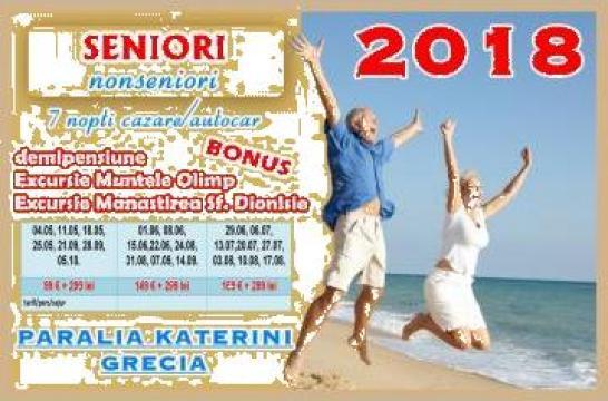 Sejur seniori / nonseniori Grecia