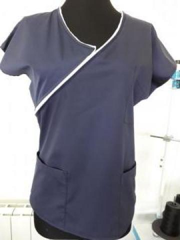 Bluza cu fermoar bleumarin