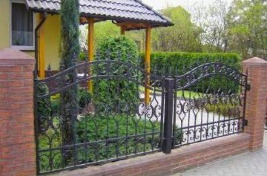 Garduri fier forjat Ilfov si Bucuresti de la Rollux Construct