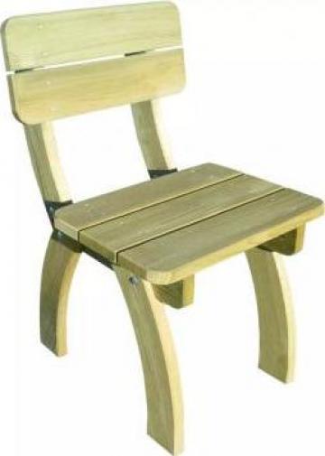 Scaun de gradina din lemn de pin tratat de la Vidaxl