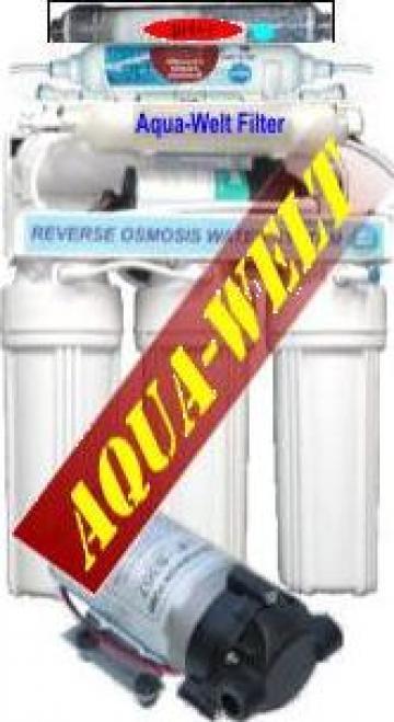 Filtru de apa purificator cu osmoza inversa AWRO8P pH++ de la Welthaus Srl