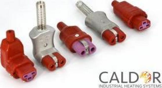 Conectori cablu CEE GS de la Caldor Industrial Heating Systems Srl
