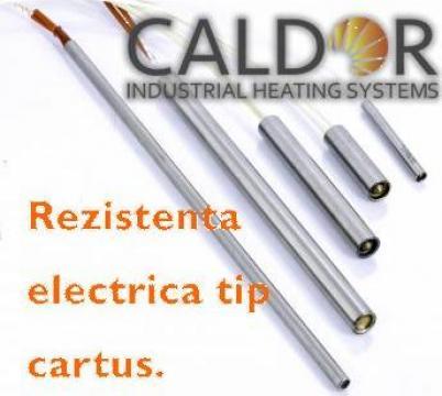 Rezistenta electrica cartus D10xL160x630W de la Caldor Industrial Heating Systems Srl