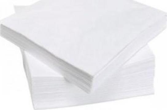Servetele albe 33x33cm, 250buc/set de la Cristian Food Industry Srl.