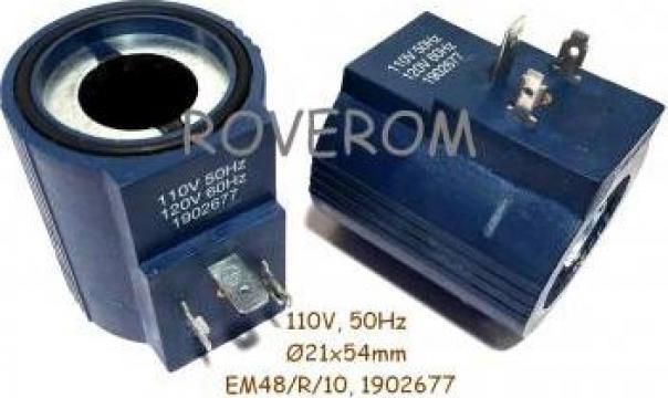 Bobina 110V, 50Hz, D21x54mm de la Roverom Srl