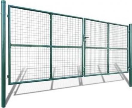 Gard din plasa pentru gradina 415 x 200 cm/400 150 cm