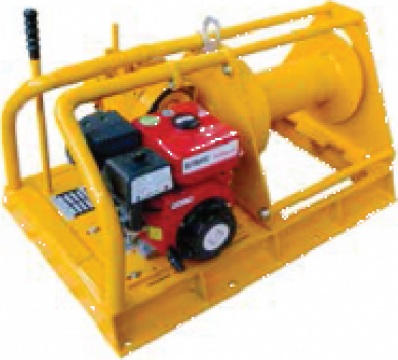Troliu electric cu motor diesel 5000 Kg
