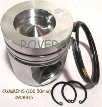 Piston kit Cummins 4BT3.9, 6BT5.9, Komatsu 4D102E (102.50mm)