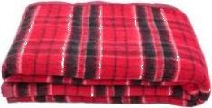 Patura din lana 80%, Ilitex Sofia, 150X200cm, 2.15 kg de la Stofe Buhusi Sa