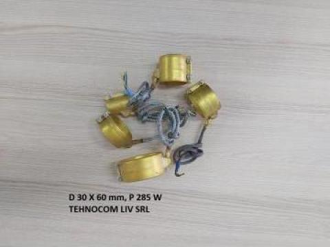Rezistenta banda 30 mm, L 60 mm, P = 285 W