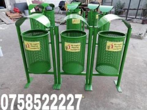 Cos de gunoi selectiv de la Moblux Stradal SRL