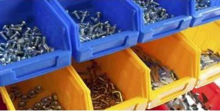 Cutii si recipiente de depozitare din material plastic Maxi de la Dexion Storage Solutions Srl