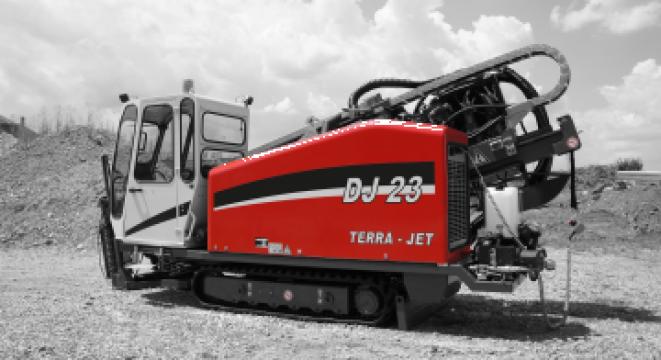 Utilaj de foraj orizontal dirijat Terra Jet DJ 23 de la Imocon Srl