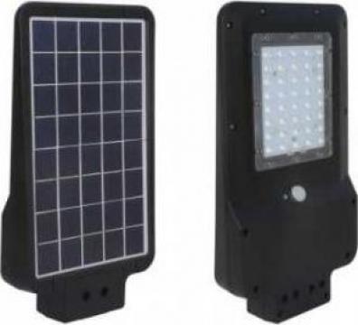 Proiector stradal solar LED 15W negru Alb natural de la Electrofrane