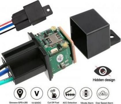 GPS tracker LK 720 - releu de inalta precizie de la Trolii-auto.ro