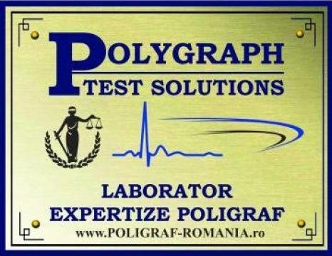 Test poligraf - Detector de Minciuni de la Polygraph Test Solutions Srl