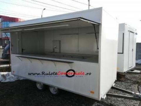 Rulota comerciala mobilata de la Avtoban Trailer Srl