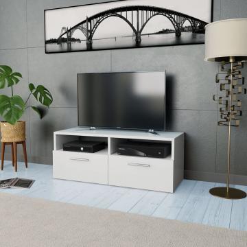 Comoda TV, PAL, 95 x 35 x 36 cm, alb