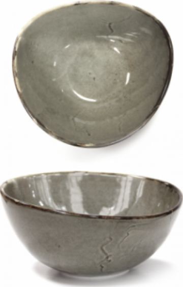 Bol portelan Antique Grey 18cm de la Basarom Com