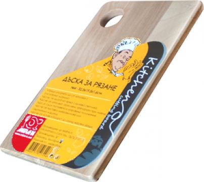 Tocator bucatarie din lemn Raki Mira N1 24x13,3x1,6cm de la Basarom Com