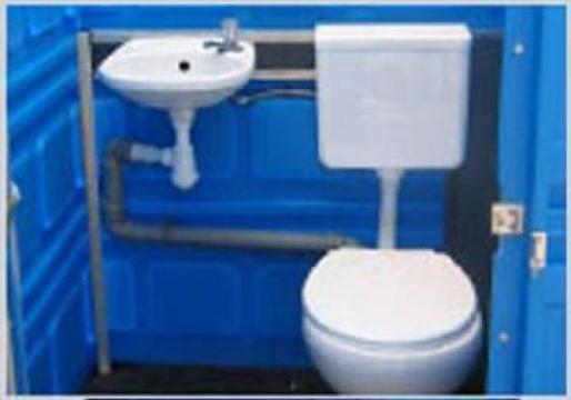 Toaleta ecologica racordabila la reata apa/canalizare de la SC Toalete Ecologice SRL