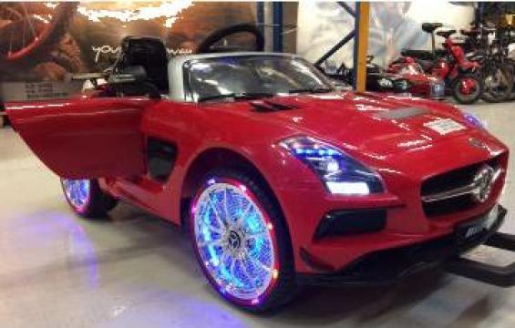 Masinuta electrica pentru copii Mercedes SLS Deluxe AMG