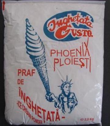 Praf pentru inghetata 2,5 kg, zmeura de la Cristian Food Industry Srl.