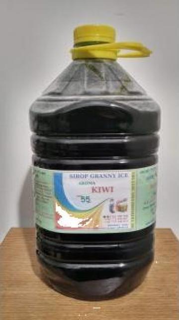 Sirop granita 5L - cu aroma de kiwi