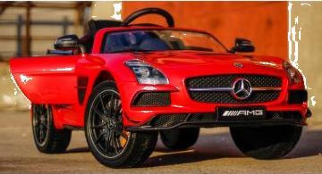 Jucarie masinuta electrica Mercedes SLS Deluxe AMG