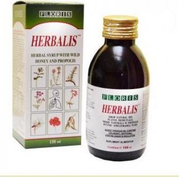 Sirop natural de tuse pentru copii si adulti Herbalis de la BioGalileea