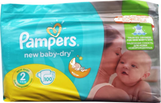 Scutece Pampers ActiveBaby Giant Pack