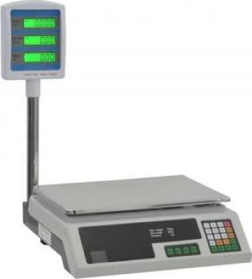 Cantar electronic de pachete cu LCD, 30 kg