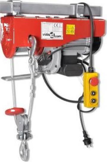 Troliu electric 1300 W 500/999 kg de la Vidaxl