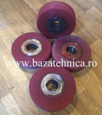 Acoperire cu poliuretan, bandaj poliuretan pe metal de la Baza Tehnica Alfa Srl